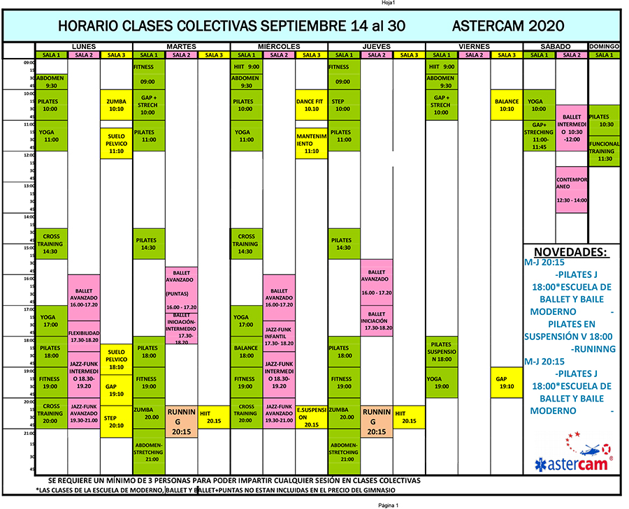 colectivas 14 30 Sept 2020 fitness